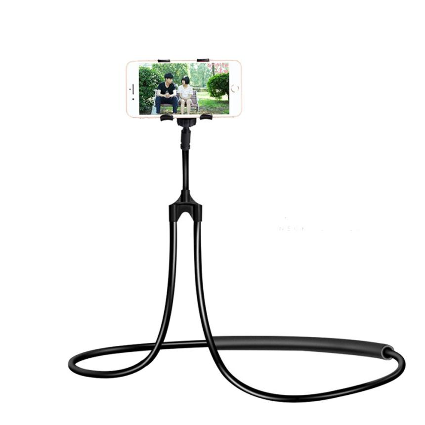 Universal Lazy Hanging Neck Phone Stand Mount Necklace Support Bracket Holder phone holder phone accessories mobile holder