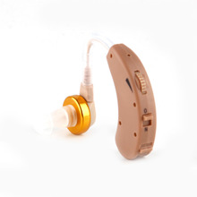 Portable F 138 In ear Hearing Aid Mini Volume Adjustable Amplifier Voice Enhancement Tool for the