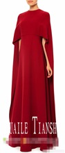 robe de soiree courte hijab evening party Gowns 2017 michael korns vestido de festa sexy backless Evening Dress with shawl