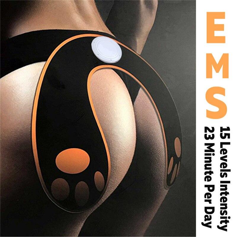 EMS Intelligent Hip Trainer Buttocks Lifting Waist Body Slim Shaper Muscle Stimulator Massage Relax Machine Rechargeable/Battery все цены