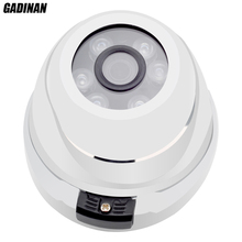 GADINAN Vandalproof Dome 48V PoE IP Network Camera 720P 960P 1080P Optional Waterproof Outdoor/Indoor IP CCTV ONVIF PoE Cable