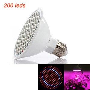 Image 3 - Tam spektrumlu LED büyümek ampuller E27 bitki bitki büyütme ışıkları iç mekan lambası hidroponik odası cultivo sebze çiçek sera
