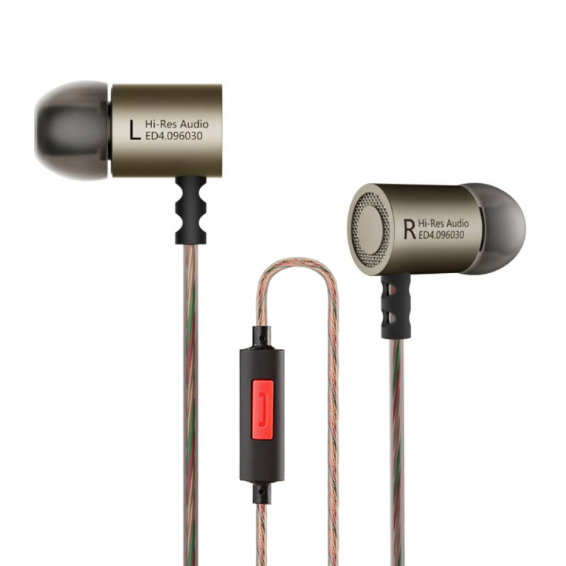 KZ ED4 In Ear Headsets Earbuds Original Kz HiFi Music Headset Auriculares Noise Cancelling Stereo Earphone