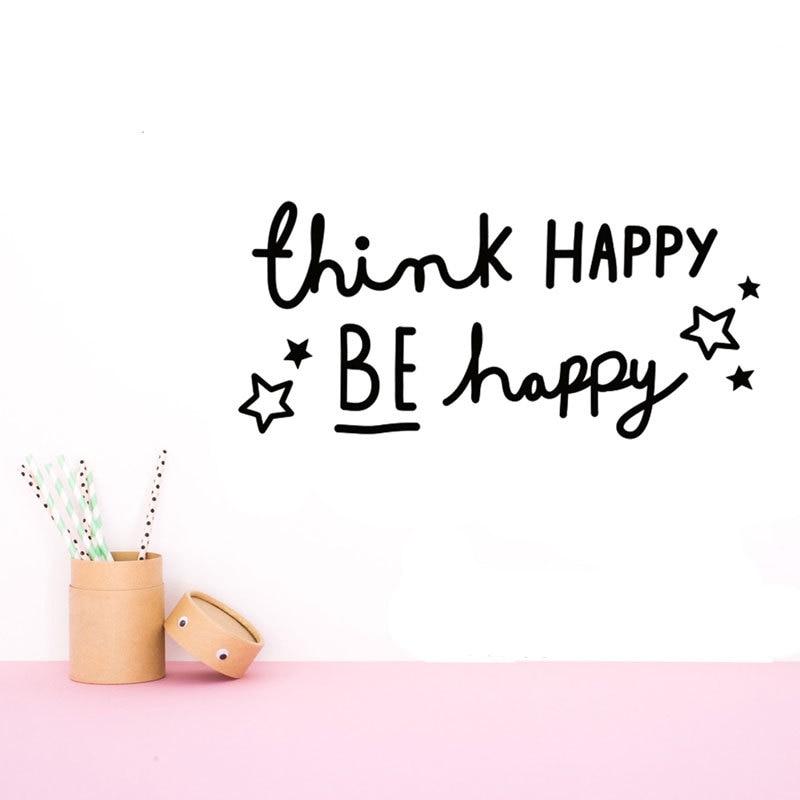 happy spreuken Denk gelukkig worden happy