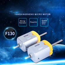 1PC DC Motor DIY Toy 130 Small Electric Motor 1V - 6V 0.35A-0.4A Low Voltage Micro DC Motor for DIY Toys Hobbies Smart Car 1 pcs new mini 130 dc motor micro motor for diy four wheel motor small drive robotic scientific experiments