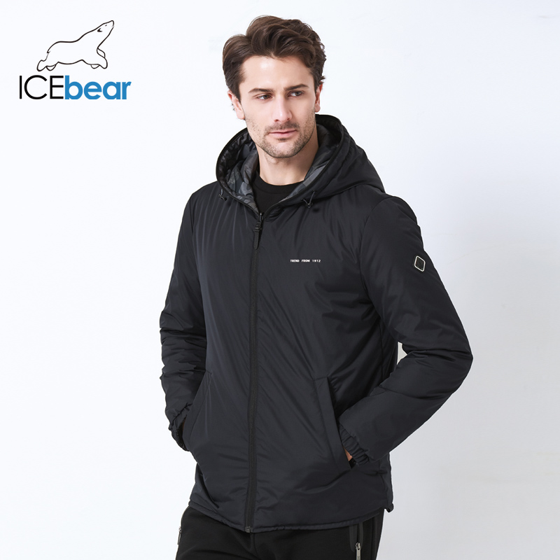 ICEbear2019 new men's jacket in  double-wearing men's windproof warm jacket high quality casual men's MWC19686I