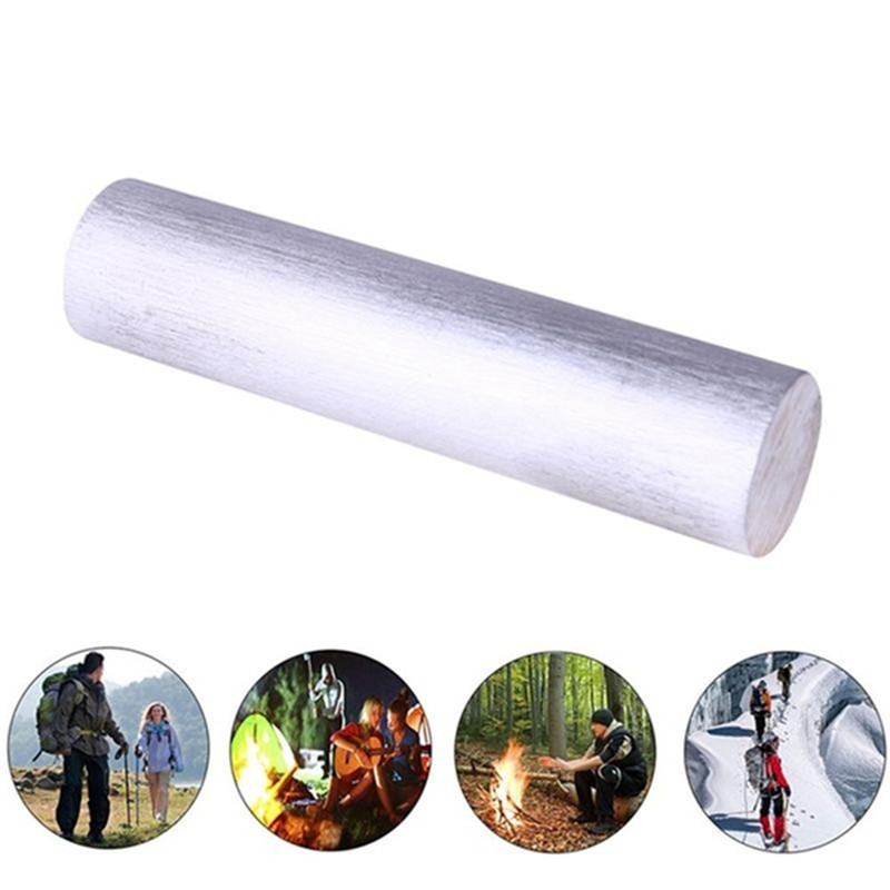 High Purity 99.99% Magnesium Metal Rod Mg Diameter 16mm X 9cm Fire Tool Survival Emergency Tool