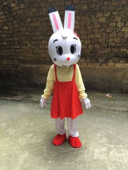 Cosplay Costumes Rabbit Mascot Costume Rabbit Easter Adult Mascot Fancy Dress Christmas Cosplay for Halloween party event