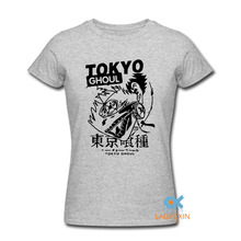 Tokyo Ghoul Printed Cotton O-Neck T-Shirt