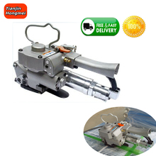 Hand held strapping tool pneumatic strapping machine manual PET PP banding machine AQD-19 width13-19mm,4000N carton packaging free shipping new aqd 19 pneumatic pet plastic pp strapping tool pet strapping machine a19 for 13 19mm