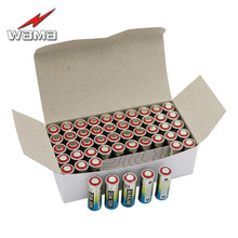 50pcs/carton New Wama Alkaline 12V 27A Primary Dry Batteries A27 27AE 27MN 55mAh Electronic Car Remote Toys Battery Wholesales