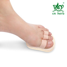 The overlap correction of hallux valgus toe mallet finger pad toe toe orthotic pad correction correction