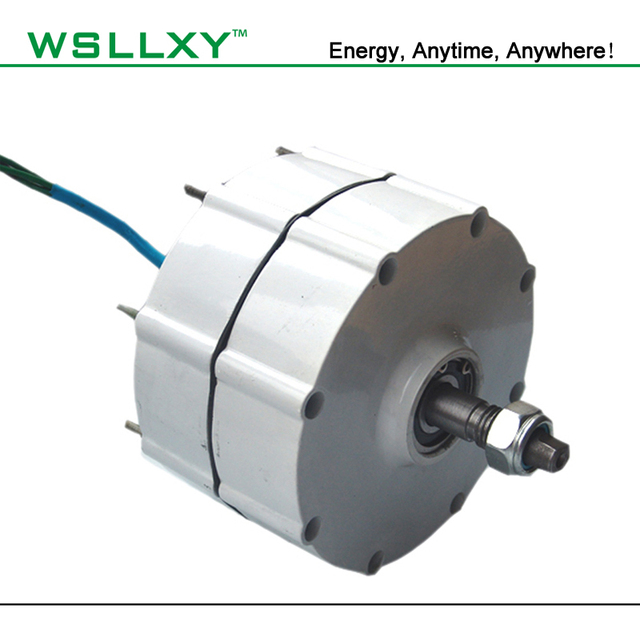 AC12V/24V 600W Power Generator Permanent Magnet Generator AC Alternator used for DIY Wind Turbine wind power system