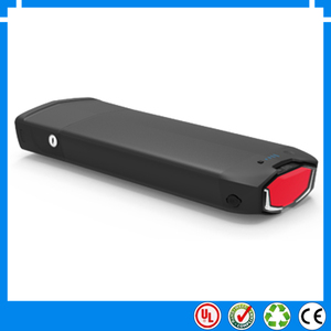 EU US No tax New 36v 10ah 12.5ah 15ah 17.5ah rear rack battery pack electric bike lithium battery e-bike battery + Charger(China)