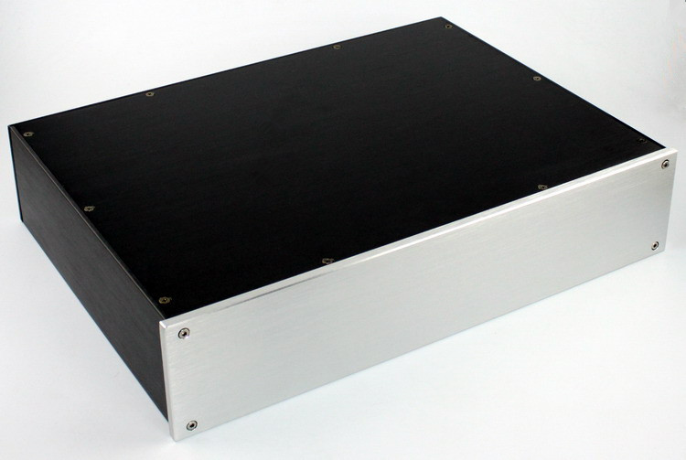 ФОТО CASE of 425*92*310mm WA47 Full aluminum amplifier chassis / Pre-amplifier / DAC Decoder housing / AMP Enclosure / case / DIY box