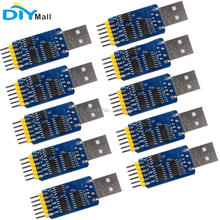 10pcs/lot 6 in 1 6Pin CP2102 Serial Module USB to TTL RS232 RS485 TTL to RS232 RS485 RS232 to RS485 3.3V 5V 2 in 1 usb to rs485 usb to rs232 rs232 to rs485 converter adapter w ch340t
