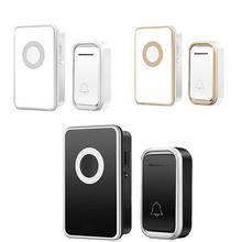 New Home Welcome Doorbell Intelligent Wireless Waterproof 300M Remote UK Plug smart Door Bell Chime