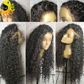 Curly Lace Front Human Hair Wigs For Black Women Deep Curly Brazilian Full Lace Frontal Wigs Glueless Full Lace Human Hair Wigs