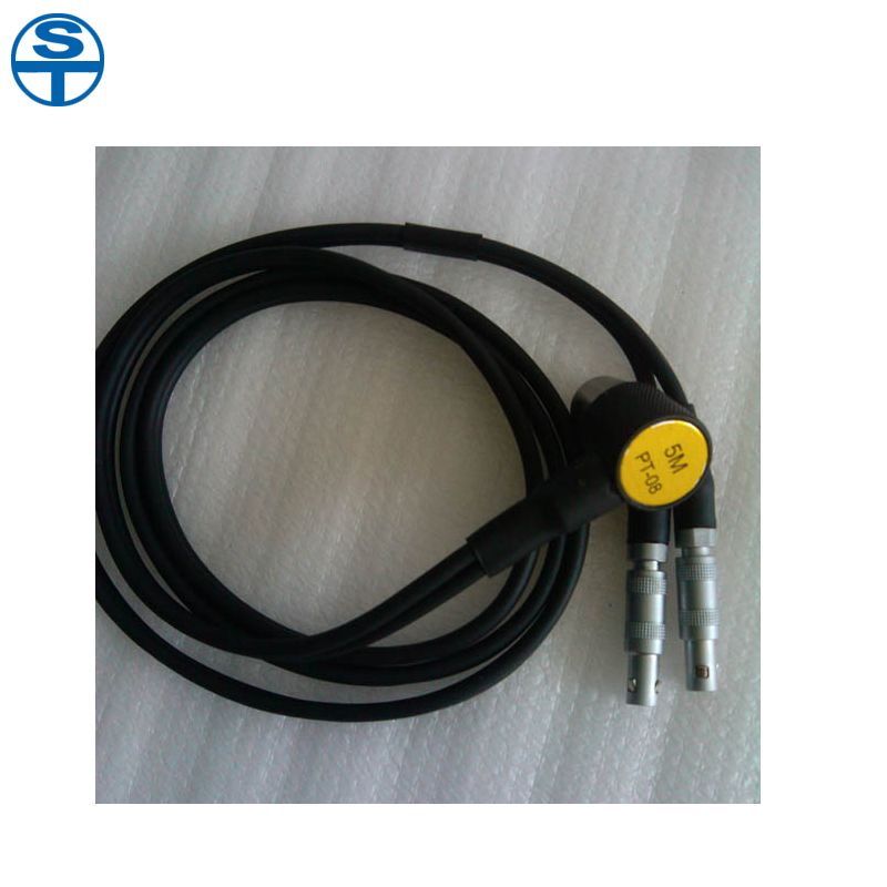 PT-08 Probe Transducer Sensor for Ultrasonic Thickness Gauge 5mhz 10mm probe transducer for ultrasonic thickness gauge