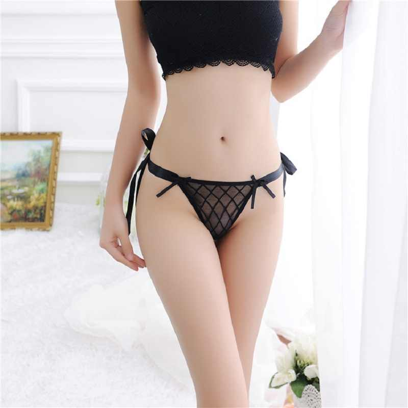 43f9048d51d2cb Detail Feedback Questions about Sexy Lace Lady Women s Thongs Tie G string  V string Panties Knickers Lingerie Underwear High Quality on Aliexpress.com  ...