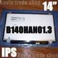 Nuevo ordenador portátil au optronics b140han01.3 full-hd lcd b140han01 b140han01.1 b140han01.2 pantalla ips fhd 1920*1080 pantalla edp matriz