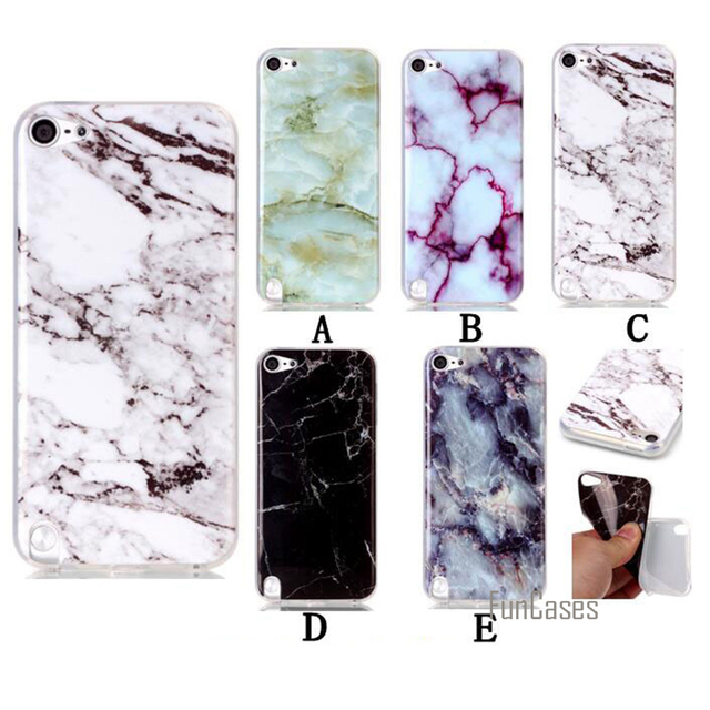 best service fac9e e6378 US $3.34 33% OFF|For Apple ipod Touch 6 Case Marble Patten Back Cover  Mobile Phone Bags Cases For ipod Touch6 TPU 4.0 Inch Protective Shell-in  Fitted ...