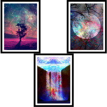 Full round diamond 5D DIY painting Colorful Moonlight cross stitch mosaic home decoration gift
