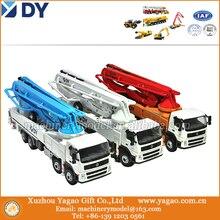 1:50 Escala Modelo de Construção para a Coreia DY Original Modelo de Caminhão Bomba de Concreto, Presente Do Negócio de alta Qualidade, réplica, coleção