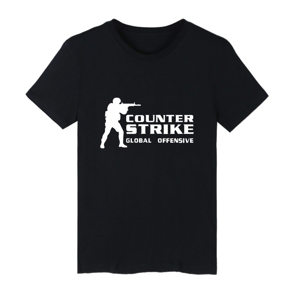 CS GO 셔츠 카운터 스트라이크 T 셔츠 남성 O - 넥 cs go 옷 cs 여름 티셔츠 카운터 스트라이크 글로벌 공세 티셔츠 PlusSize