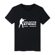 CS GO shirt Counter Strike T Shirt Men O-Neck cs go Clothes cs Summer tshirts counter strike global offensive Tee shirt PlusSize