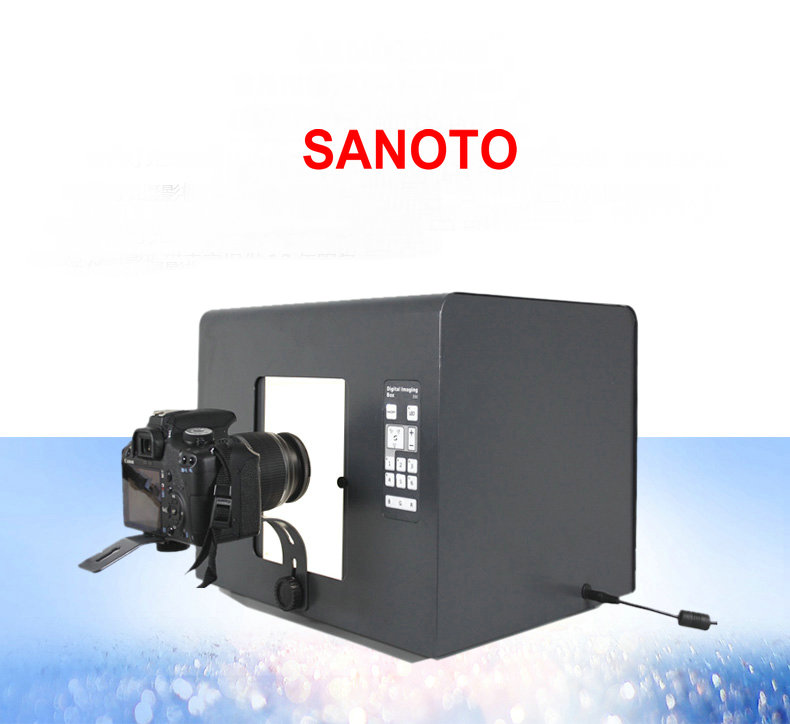 Professional Santo Free Shipping Brand LED Mini Photo Studio Photography Light Box Photo Box Softbox B430 Jewelry Diamonds 40 40cm mini light strips professional portable mini kit photo photography studio led photo light box softbox