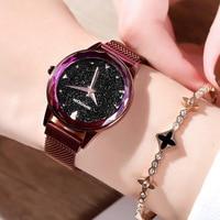 Luxury Brand Ladies Wrist Watch Quartz Women Casual Waterproof Woman Watches Stainless Steel Crystal Lady Watch Relogio Feminino