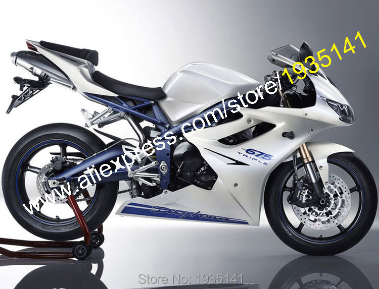 Hot Sales,For Triumph Daytona 675 2009 2010 2011 2012 ABS Parts Daytona675 09 10 11 12 Motorbike Fairing Kit (Injection molding) отсутствует metal supply & sales 2010