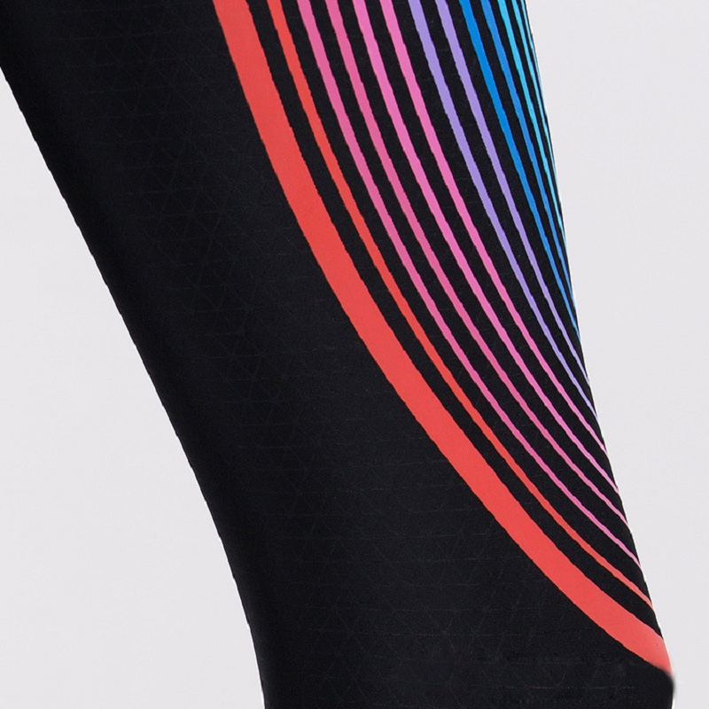 Hot Sales! New Push-up Leggings Summer Men Women Skinny Elastic Patchwork Print Sporting Leggings Pants Fitness Clothing 16