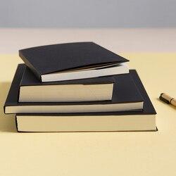 Wszystkie puste białe papiery czarna okładka szkicownik najlepsze papiery malowanie doodle book sketchblock notebook