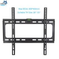 CNXD фиксированное ТВ настенное крепление для ТВ кронштейн для большинства 26-55 дюймов светодиодный ЖК-дисплей и плазменный телевизор до VESA ...