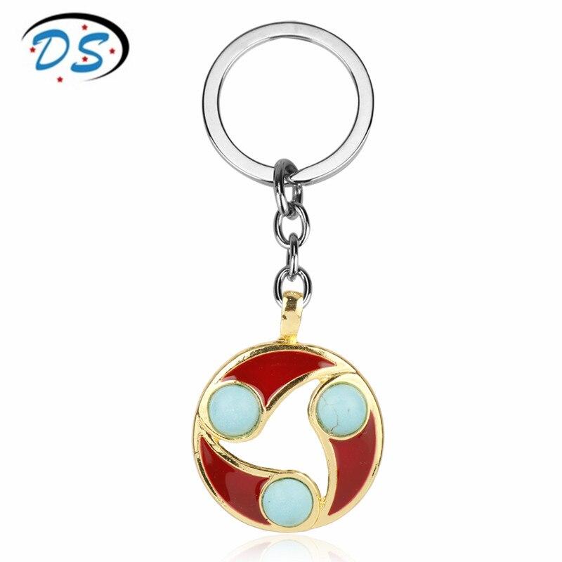 Hot Game Jewelry Dota2 Keychain Car Bag Key Holder Women Man Key Ring Key Chian