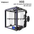 Gran venta TRONXY X5S tamaño de impresión 330*330*400mm impresora 3D perfil completo de aluminio impresión 3d