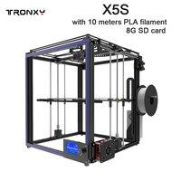 Sıcak satış TRONXY X5S baskı boyutu 330*330*400mm 3D Yazıcı Tam Alüminyum profil 3d baskı