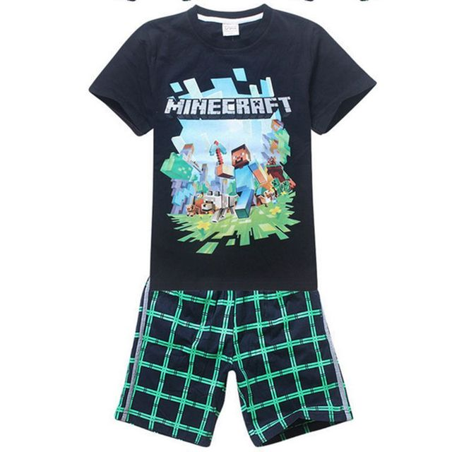 32f332319194 Free shipping 2016 kids children clothing set baby boys cartoon robbot  printing cotton T-shit