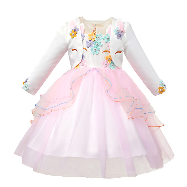 Unicorn Princess Waistcoat Jacket and Headband