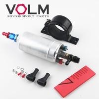 High QUALITY External Fuel Pump 044 OEM: 0580 254 044 Poulor 300lph AN6 push on fitting single pump bracket FP044I