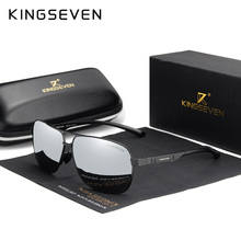 KINGSEVEN Women Men Sunglasses Polarized Mirror Lens Vintage