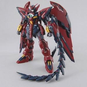 Image 3 - بانداي MG 1/100 جديد موبايل تقرير Gundam الجناح OZ 13MS Gundam Epyon EW عمل الشكل الاطفال تجميعها لعبة هدية