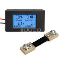 4in1 Tester Digital Multimeter DC 6 5 100V 100A 10kW 9999kWh LCD Display Voltage Current Power