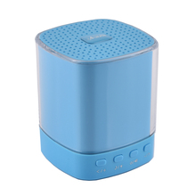 Beautiful Crystal LED lighting Wireless portable Bluetooth speaker hand free call Support TF card, AUX