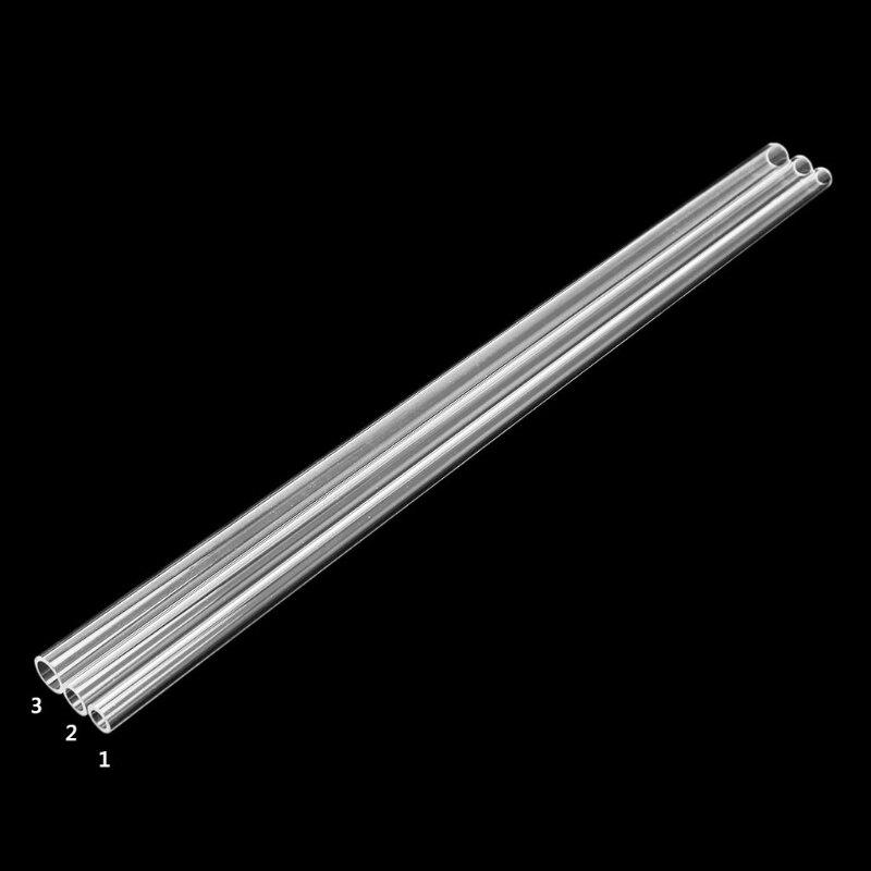 SELECT OD 6 TO 150MM CLEAR ACRYLIC PLEXIGLASS PMMA TUBE 500MM LONG