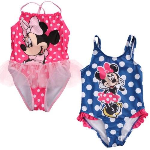 Traje de baño de una pieza Bikini Monokini para niños y niñas