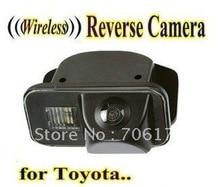 WIRELESS Специальный Автомобильная камера Заднего вида Обратный заднего вида резервного копирования парковочная Камера для TOYOTA Corolla/Tarago/Previa/Желание/Alphard