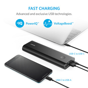 Image 5 - アンカー PowerCore + 20100 mAh USB C 、超高容量ポータブル充電器外部バッテリー PowerIQ iphone 、サムスン、 MacBook など